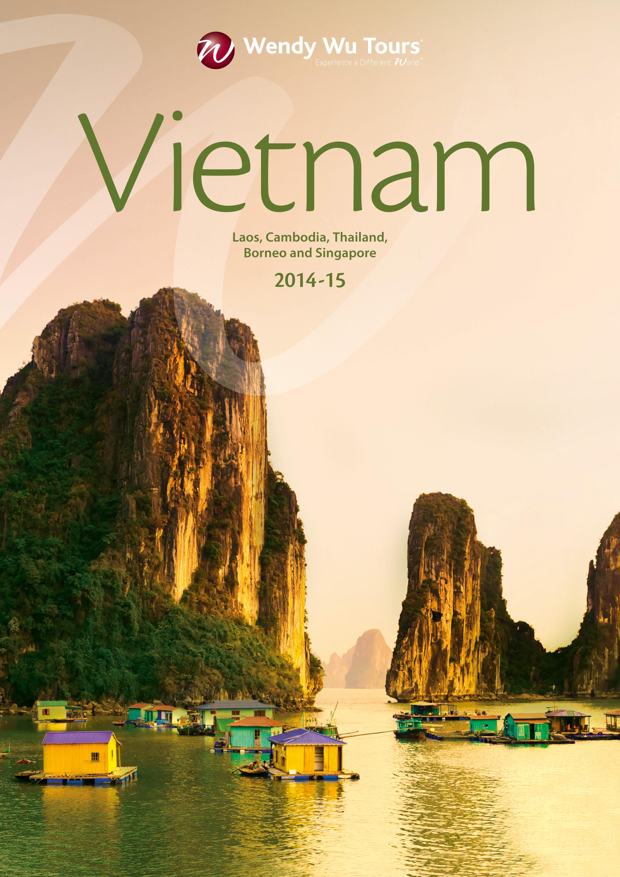 Travel Daily | Wendy Wu Tours 2014/15 Vietnam brochure